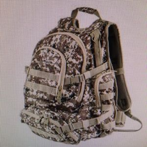 Wilson & Miller Heavy duty army backpack New 🍒